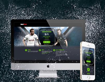 Landing page-NetBet Sport UK