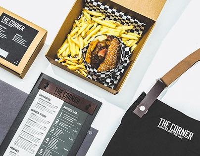 The Corner Burger Store - Branding