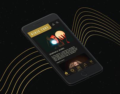 Ninja Tune App Concept