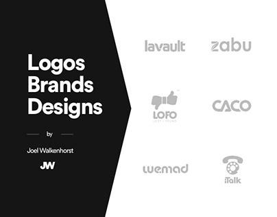 Logos, Brands, Designs