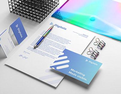 Branding for Digitala Marketing Agency
