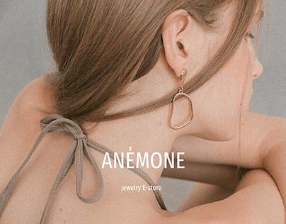 Anemone jewelry e-store