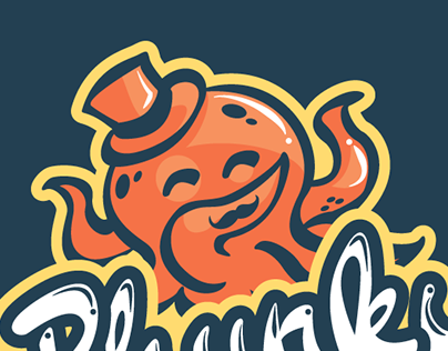 Phunky Octopus logo