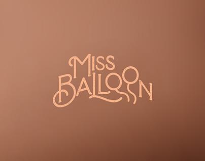 Miss Balloon Branding