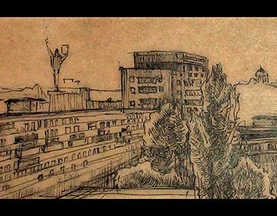Sketch of Kyiv