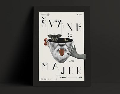 Jan Švankmajer Collage Poster / Retrospective