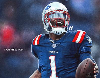 Cam Newton New England Patriots Jersey Swap Process