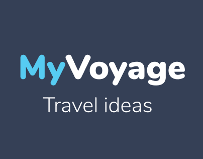 MyVoyage UX and UI