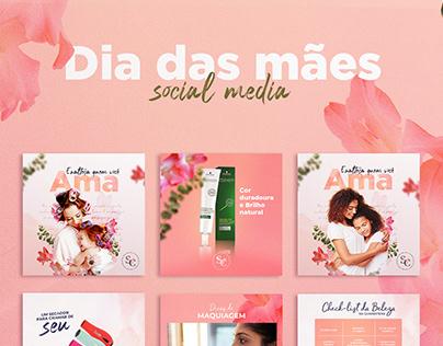 Campanha dia das Mães - Redes sociais