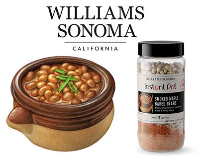 Food Illustrations for Williams Sonoma