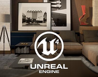 Hollywood House - Unreal Engine 4 - Virtual Reality