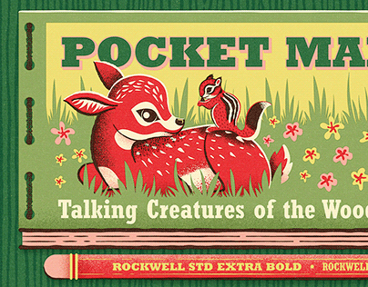 Fairytale Field Guide: Fontacular 2020 MyFonts Campaign