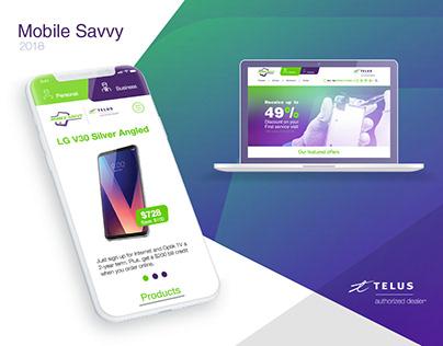 "Telus authorized dealer ""Mobile Savvy"""