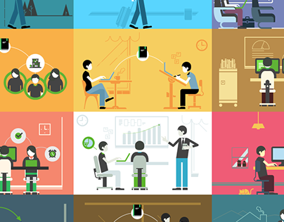 Evernote | Thematic Illustrations