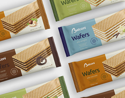 Balconi wafer packaging design