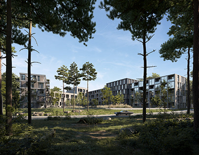 Residence complex. Sweden