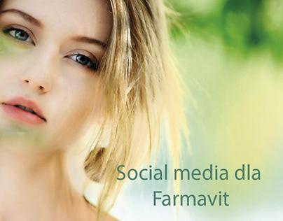 Social media dla Farmavit
