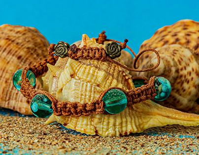Handmade bracelet.