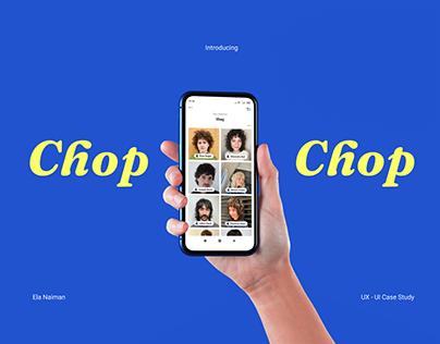 Chop Chop - UX/UI Case Study
