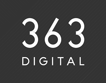 363 Digital Logotype