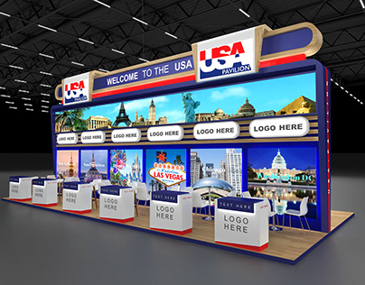 USA Pavilion and Lounge