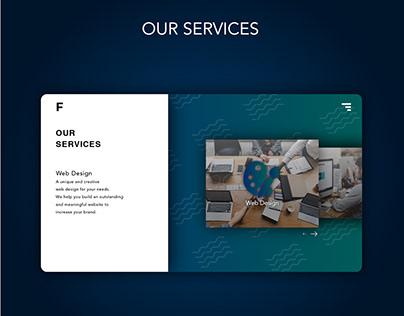 Web Design Illustration - Fortissimo Theme