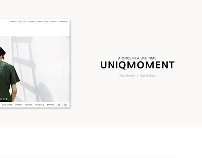 Uniqmoment Re-deisgn