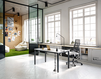 NSG - OFFICE FURNITURE | FULL CGI