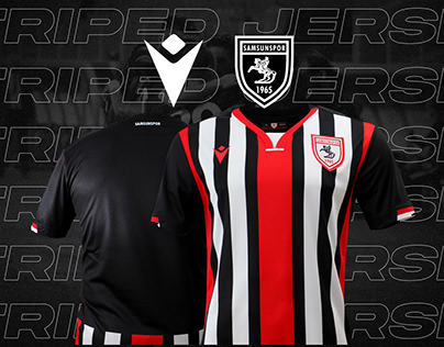 Samsunspor 20/21 Striped Jersey Design