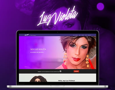 Website Luz Violeta
