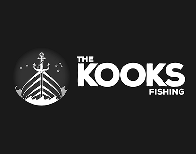 THE KOOKS FISHING - Logo Design