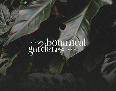 Botanical Garden - Napoli - Brand Identity