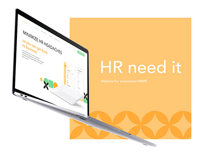 HR NEED IT | Website for automated HRMS