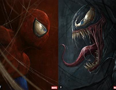 Marvel: Spiderman & Venom