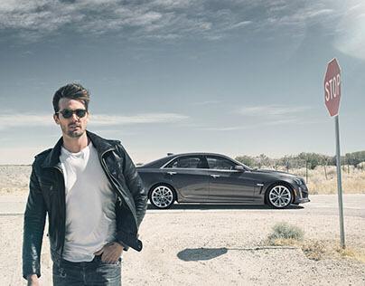 Cadillac CTS-V with Alex Bernstein