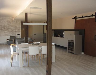Reforma interior d'una vivenda a Barcelona