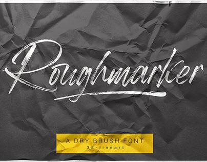 Roughmarker Font