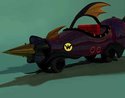 Modelagem 3d - Carro Dick Vigarista
