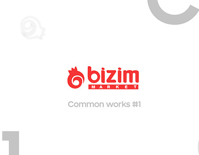 Common design works for Bizim Market LLC