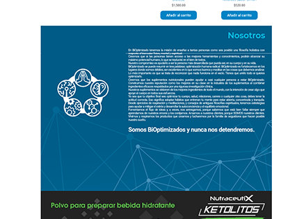 Bioptimizado - Sitio Web