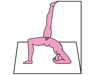 Yoga nackt Naked yoga,