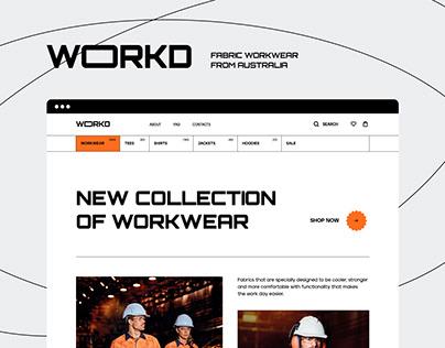 UX / UI / WOKRD / e-commerce redesign