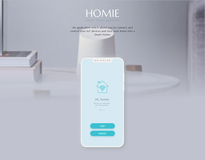 Smart Home Mobile app design