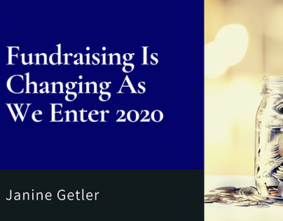 Fundraising Is Changing As We Enter 2020