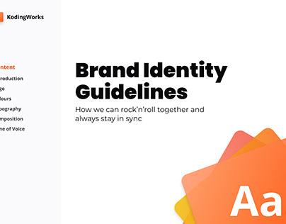 Brand Identity Guidelines — KodingWorsk