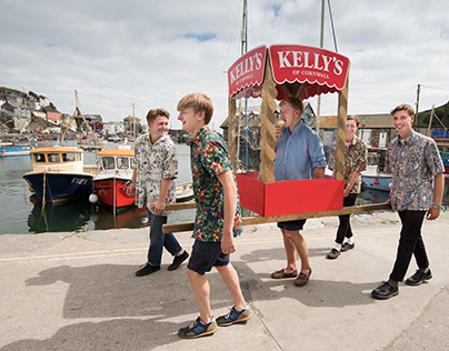 Kelly's of Cornwall Marketing Campaign