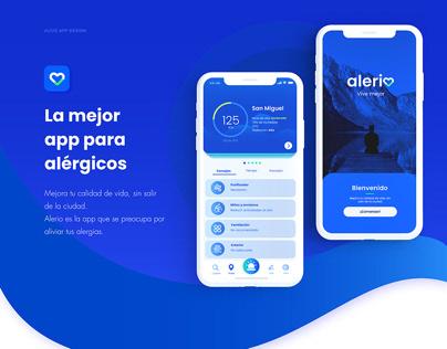 UI/UX App Design: Alerio App