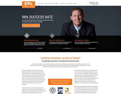 FONTANA CAR ACCIDENT ATTORNEY | Banner Attorneys