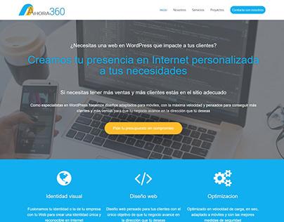 Ahora360 (Brand Design and web design)