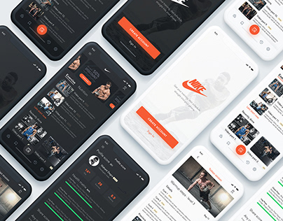 Nike workout app redesign challenge